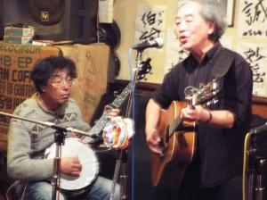 バンジョーでの太田さんと館野さん