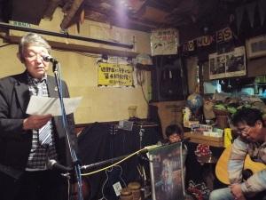 奥主榮と太田三造(右)