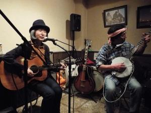 山口敦子と太田三造at国分寺ギーで。
